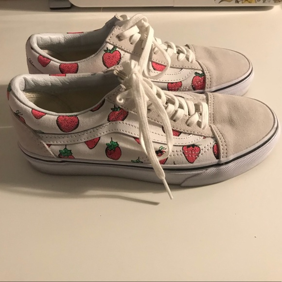 4dff500615 Vans Old Skool Strawberries. M 5aa5f34246aa7c283024b71c